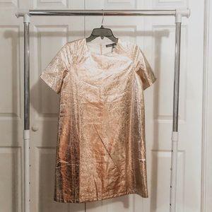GOLD Metallic Dress!!!